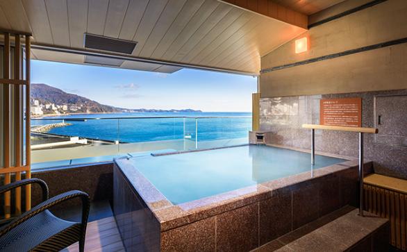 熱海後楽園ホテルの水素風呂